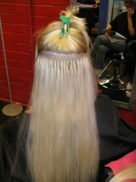 Before and after pictures of hair extensions in kansas city before pmusecretfo Images